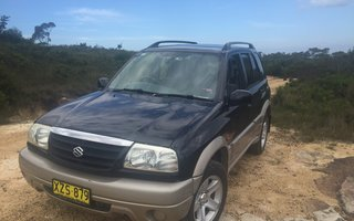 2002 Suzuki Grand Vitara Sports (4x4) Review