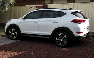 2015 Hyundai Tucson Highlander (AWD) Review