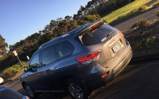 2016 Nissan Pathfinder ST (4x2) review