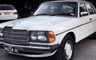 1982 Mercedes-Benz 230 E Review