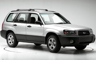 2004 Subaru Forester X review