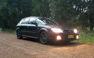 2003 Mazda 323 Astina SP20 review