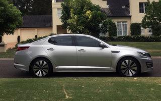 2012 Kia Optima Platinum review