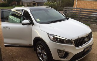 2016 Kia Sorento Platinum AWD review