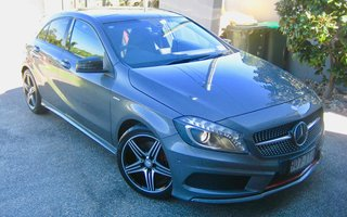 2014 Mercedes-Benz A250 Sport review