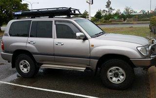 2003 Toyota LandCruiser GXL (4x4) review