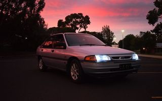 1994 Ford LASER Review