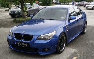 2006 BMW 5 Series Review