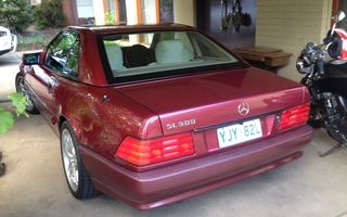 1992 Mercedes-Benz 500 Review