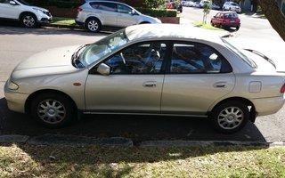 1995 Mazda 323 Review