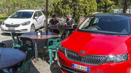 The Big Small Car Challenge - Skoda Rapid v Kia Cerato