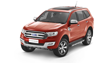 2015 Ford Everest First Look : Bangkok motor show