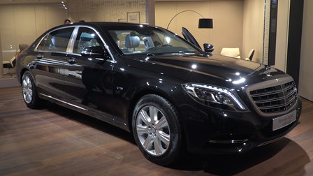 Mercedes-Maybach S600 Guard : 2016 Geneva Motor Show
