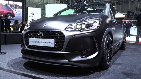 Wonderful DS 3 Performance Hot Hatch  2016 Geneva Motor Show