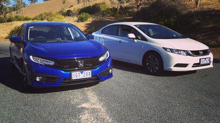 2016 Honda Civic - what has changed?