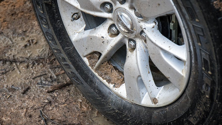 What's the best tyre pressure for off-roading?