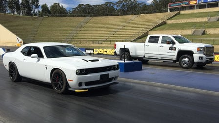 Dodge Challenger and GMC Sierra: ADR compliance testing