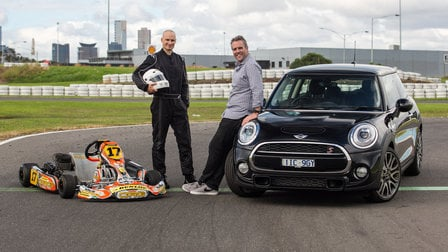 "Mini's ""Go-Kart Feeling"" takes on... an actual go-kart!"