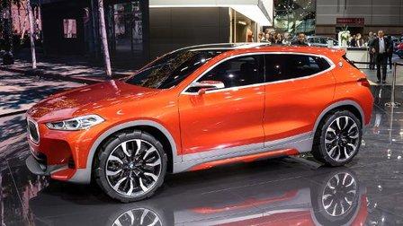 2018 BMW X2 Concept - 2016 Paris Motor Show
