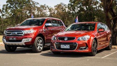 2016 Australia Day Special - Ford Everest v Holden Sportwagon