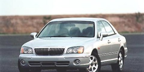 2001 Hyundai Grandeur XG review