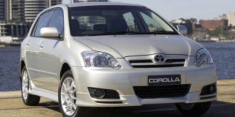 2006 Toyota Corolla Ascent Review Review