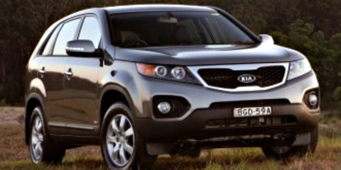2009 KIA SORENTO Si Review