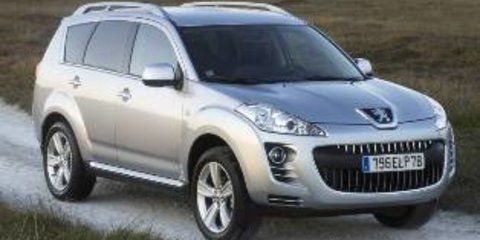 2010 PEUGEOT 4007 SV (7 SEAT) Review