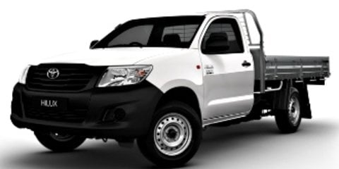 2013 Toyota HiLux Workmate Review Review