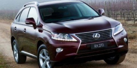 2012 Lexus RX270 (FWD) Review