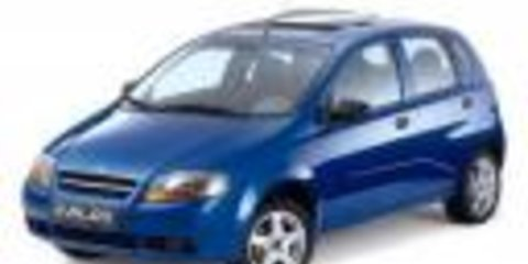 Holden Barina 2006 Poor Safety Slows Sales