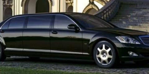 2008 Mercedes-Benz S600 Guard Pullman