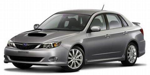 2008 Subaru Impreza Official Release
