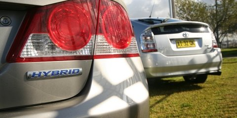 Toyota Prius vs Honda Civic Hybrid Road Test