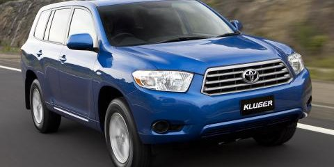 Toyota Kluger wants Territory