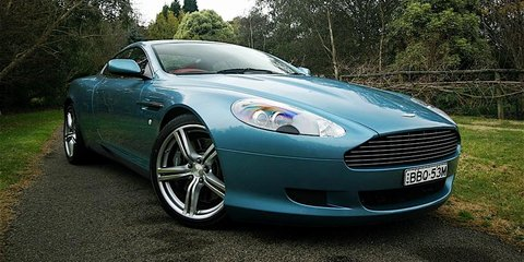 2007 Aston Martin DB9 Coupe Road Test