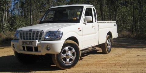 2007 Mahindra Pikup 4x4 Road Test