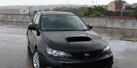 2008 Subaru Impreza WRX First Steer