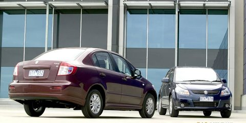 2007 Suzuki SX4 Hatch & Sedan Road Test