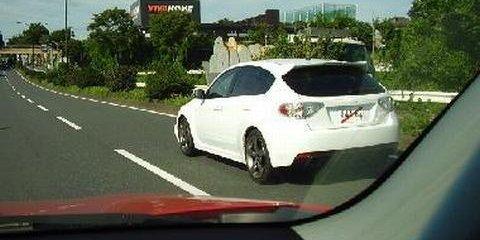 2008 Subaru Impreza WRX STi Spied... again
