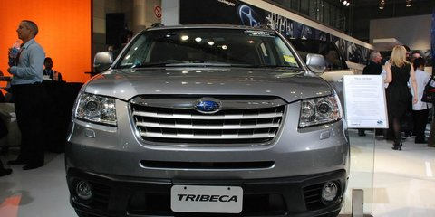 Subaru Tribeca Sydney Motor Show