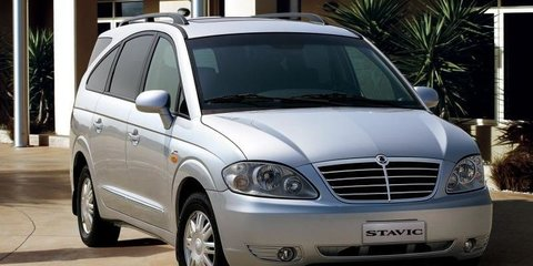 2008 SsangYong Stavic