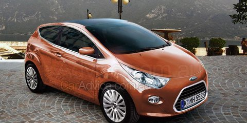 Next-generation Ford Ka CGI