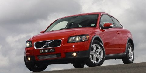 2008 Volvo C30 D5 first steer