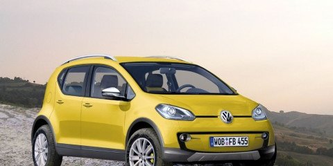 Volkswagen Lupo and CrossLupo CGI