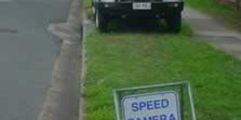 Police agree speed cameras are for revenue raising