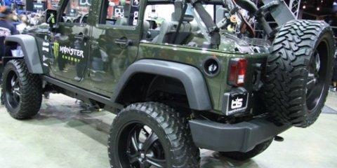 Jeep Wrangler Rubicon Tony Hawk DUB Edition