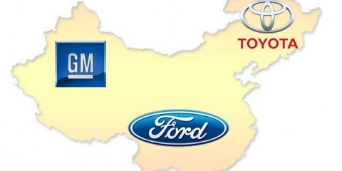 GM, Ford & Toyota expand in China