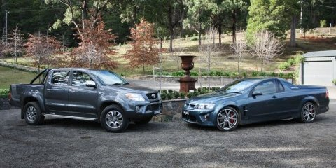TRD Hilux 4000SL vs. LS3 HSV Maloo R8 Review