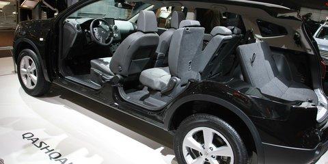 Nissan Qashqai+2 2008 London Motorshow
